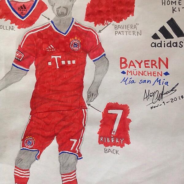 Bayern Múnich Home Kit (Sketch)