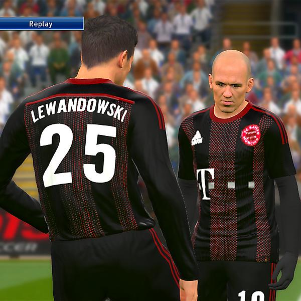 Bayern Munich third