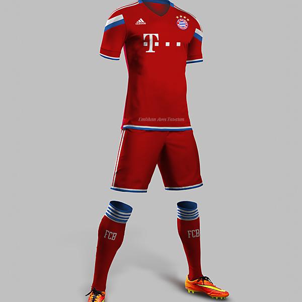 Bayern Munih Home Kit Design