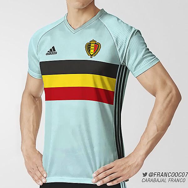 Belgium Away Euro 2016