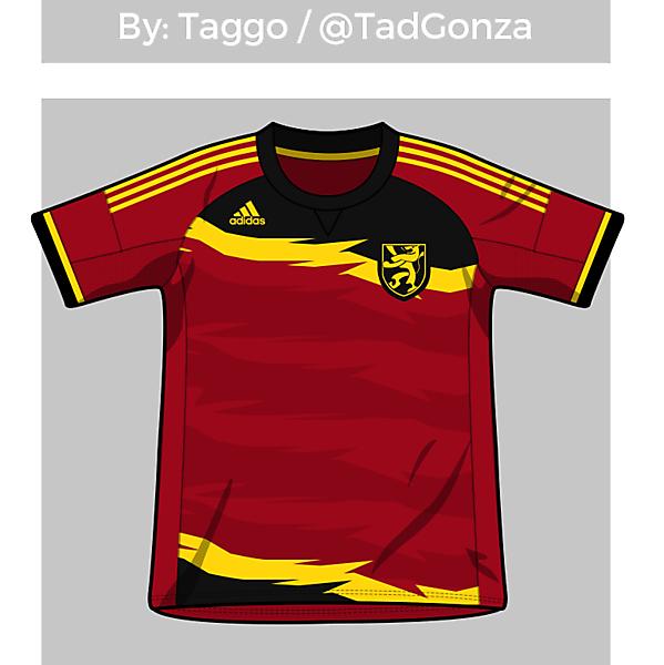 Belgium Home Shirt