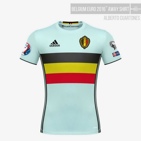 Belgium UEFA EURO 2016™ Away Shirt