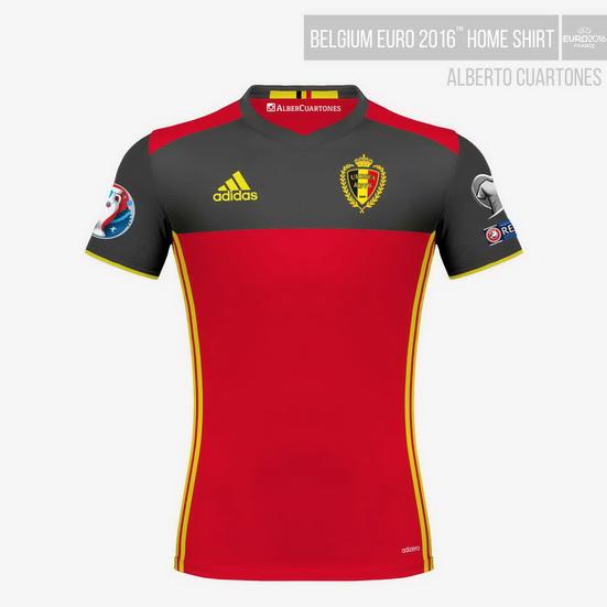 Belgium UEFA EURO 2016™ Home Shirt