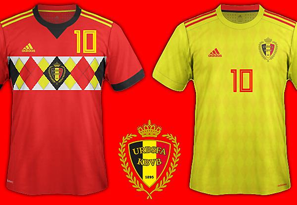 Belgium World Cup 2018 Fantasy Kit