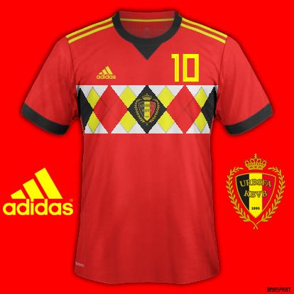 Belgium World Cup 2018 Home Fantasy Kit