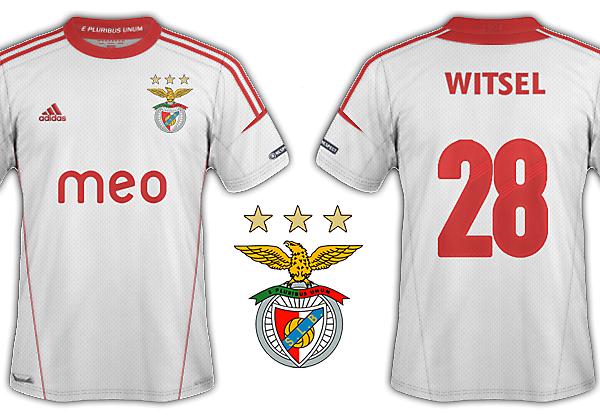 Benfica 2012/13 kits