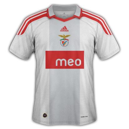 Benfica fantasy kits with Adidas