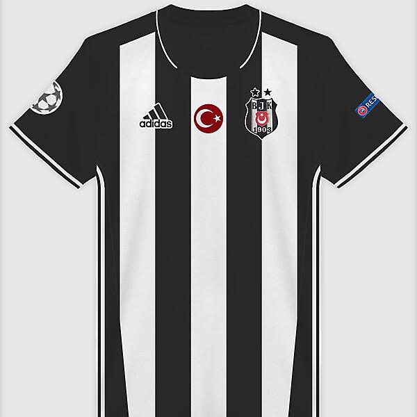 Beşiktaş 17-18 Away x Adidas