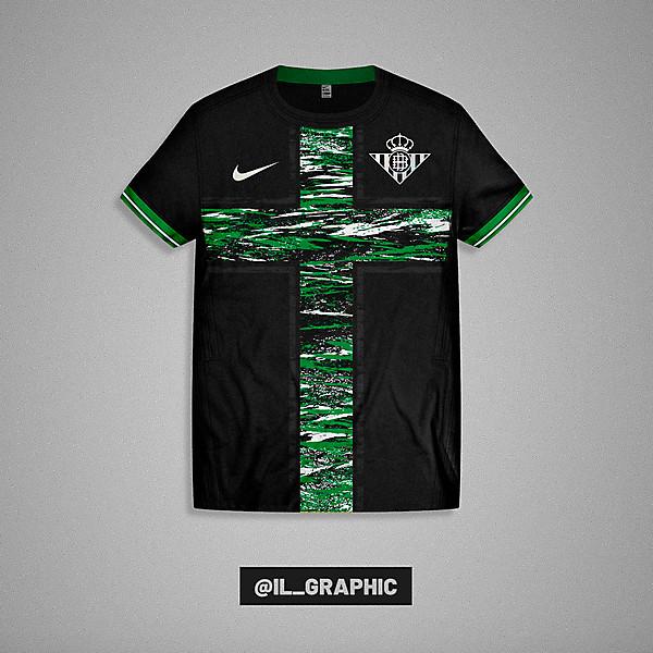 Betis Third Kit x Nike  - Paint Concept