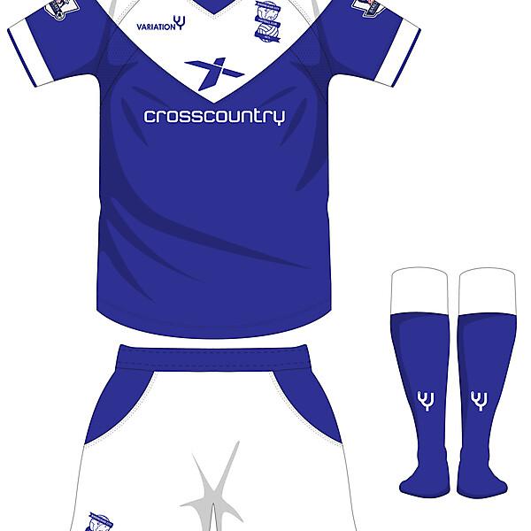 Birmingham City Home Kit