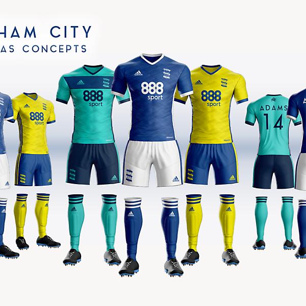 Birmingham City Adidas 2018/19
