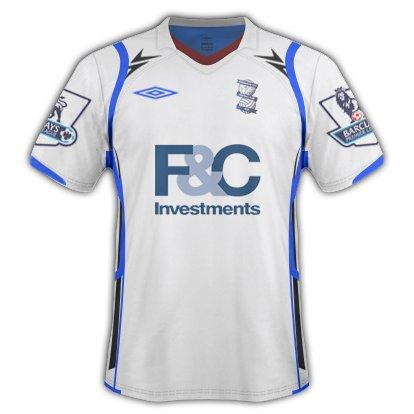 Birmingham City Away Kit