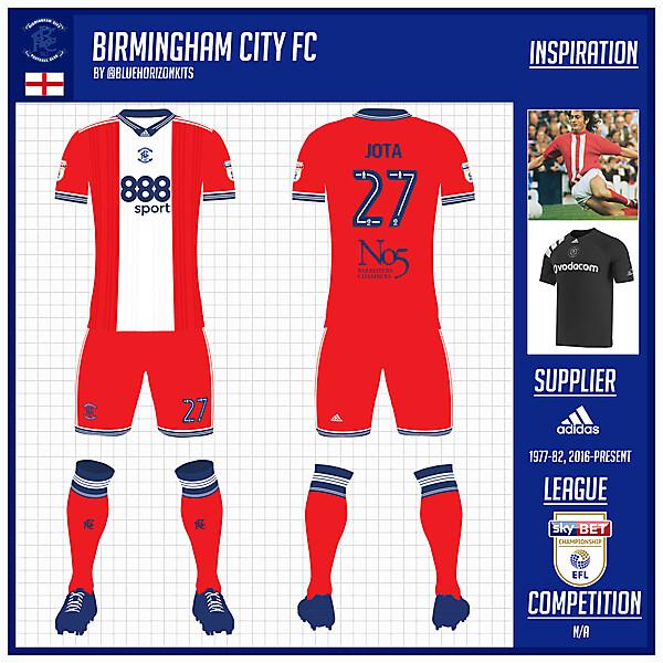 Birmingham City FC Away Kit -@bluehorizonkits