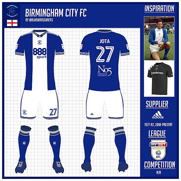Birmingham City FC Home Kit -@bluehorizonkits