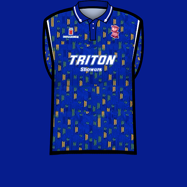 Birmingham City home 92-93