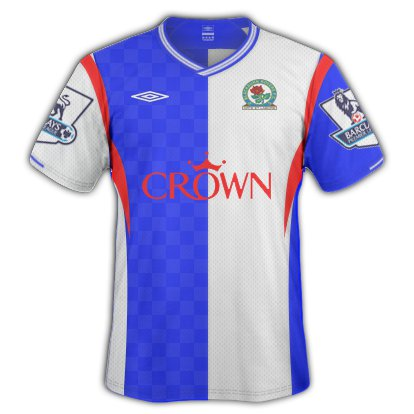 Blackburn Rovers Home Kit