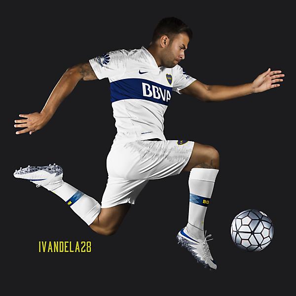 Boca Jrs Away Kit 18 v2