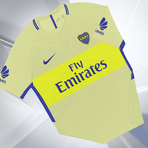 Boca Jrs away Nike