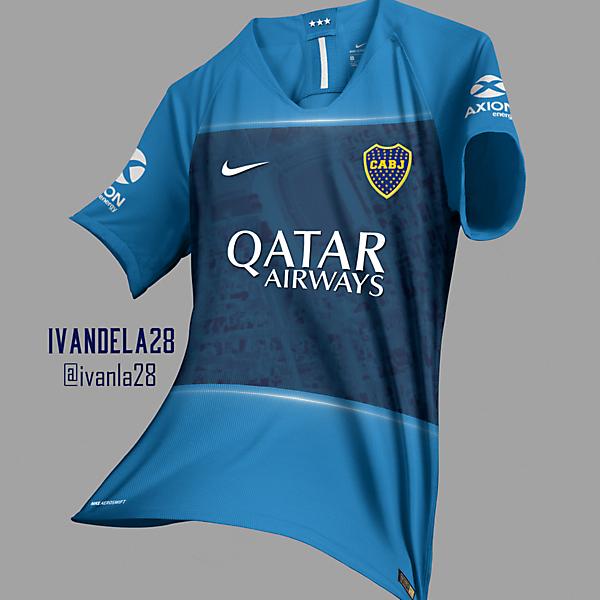 Boca Jrs Global Third Kit Nike