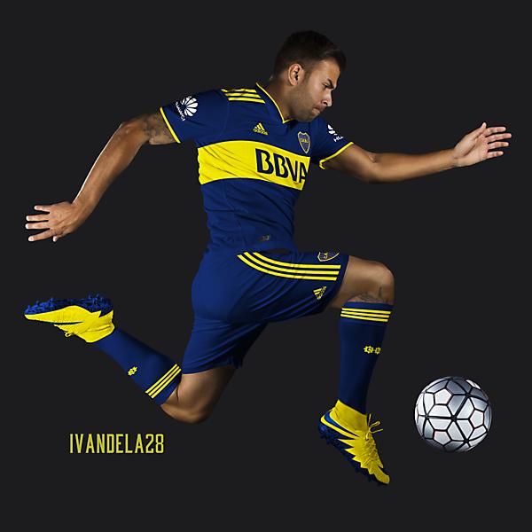 Boca Jrs Home Kit Adidas