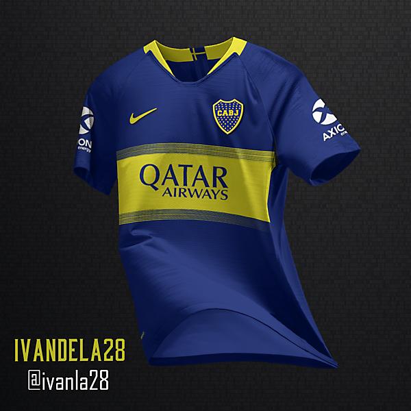 Boca Jrs Home Kit Nike
