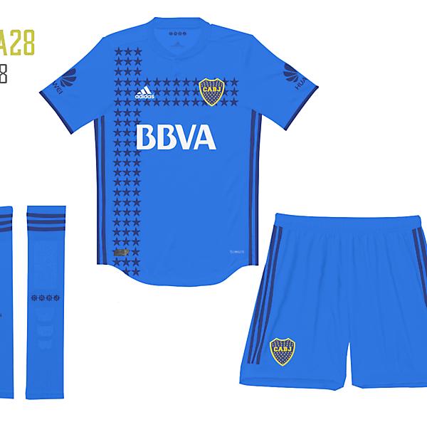 Boca Jrs Third Kit Adidas