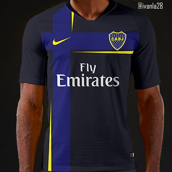 Boca Jrs Third Kit Nike