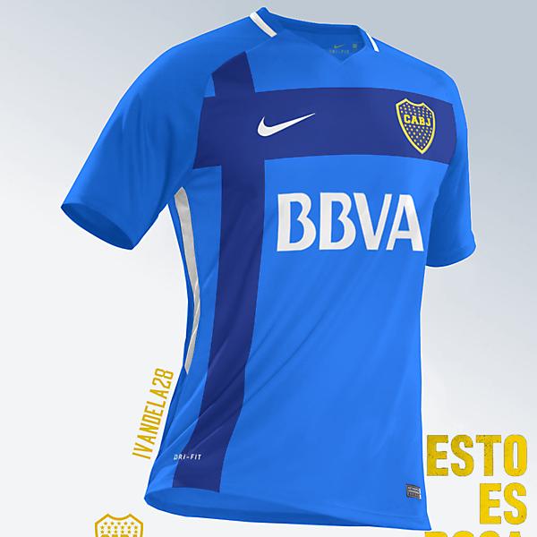 Boca Jrs Third Kit Nike v1