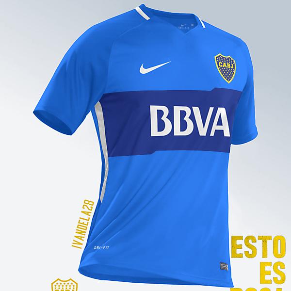 Boca Jrs Third Kit Nike v2