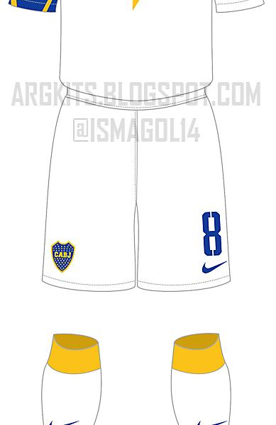 Boca Juniors - Fantasy 3rd Kit