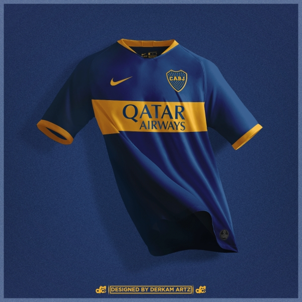 Boca Juniors - Home Kit (2019/20)