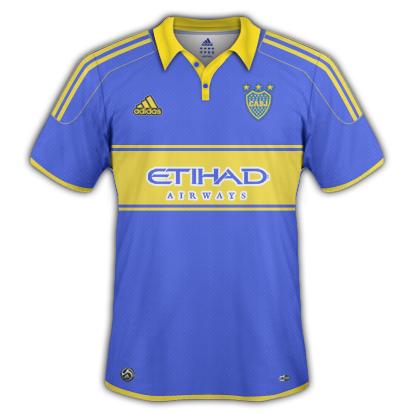 Boca Juniors 2010/11 Home Shirt