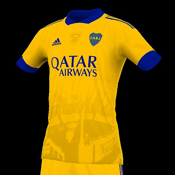 Boca Juniors 21 third slight remake