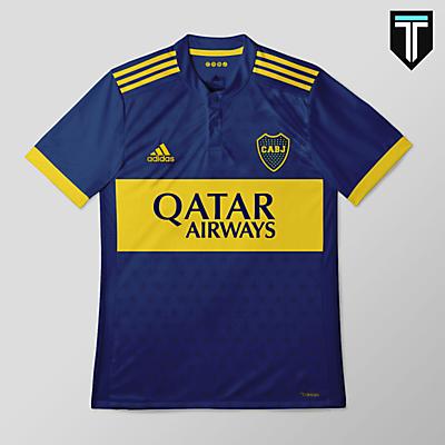Boca Juniors Adidas Home Kit Concept