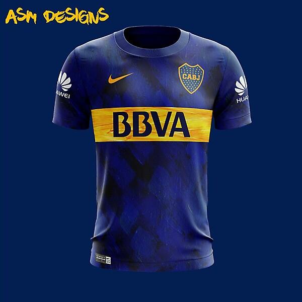 Boca Juniors Nike 2018 Home Kit