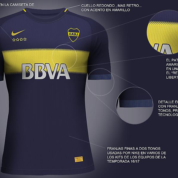 Boca Juniors Nike Vapor Aeroswift