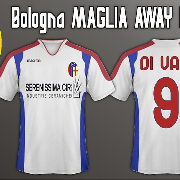Bologna Away 11/12