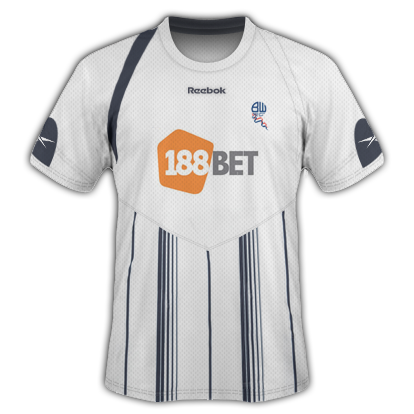 Bolton Home Kit 2009/10 Season
