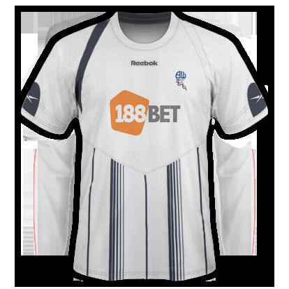 Bolton Home Kit 2009/10 Season