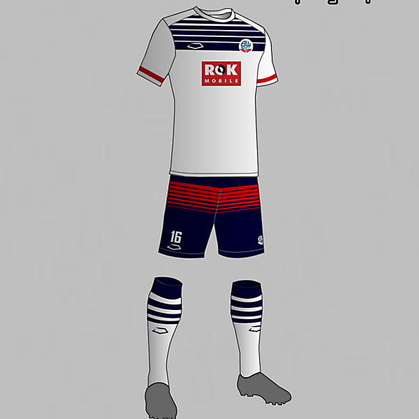 Bolton Wanderers (England) Home Kit 2016