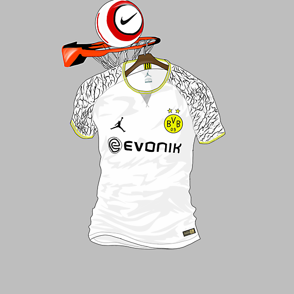 Borussia Dortmund 3rd Kit x Air Jordan