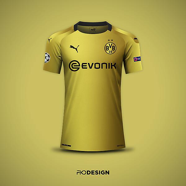Borussia Dortmund | Puma | UCL