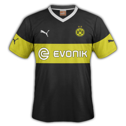 Borussia Dortmund Away Fantasy Kit 2014/2015