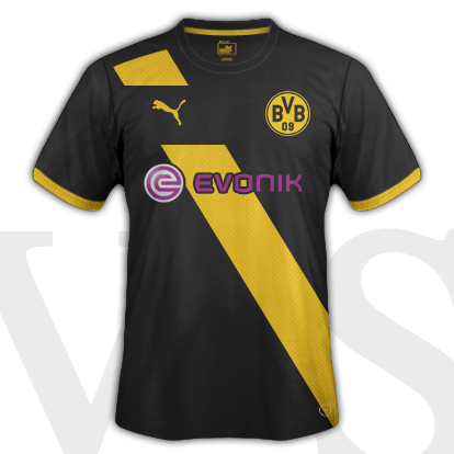 Borussia Dortmund Away Kit 2015/16 season with Puma