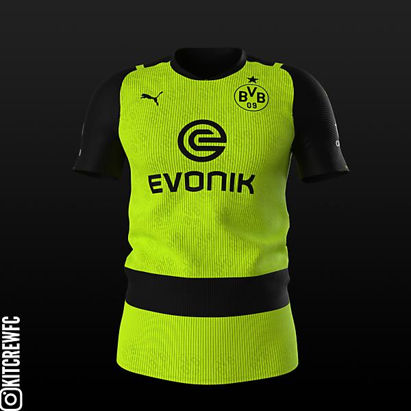 Borussia Dortmund Champions League Kit Concept (25th Anniversary)