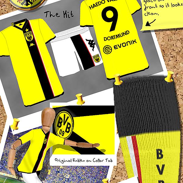 Borussia Dortmund Home Kit - My Final One!