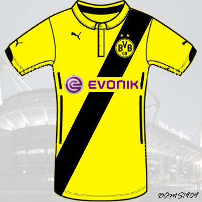 Borussia Dortmund - PUMA ACTV Home Kit - #1