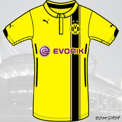Borussia Dortmund - PUMA ACTV Home Kit - #4