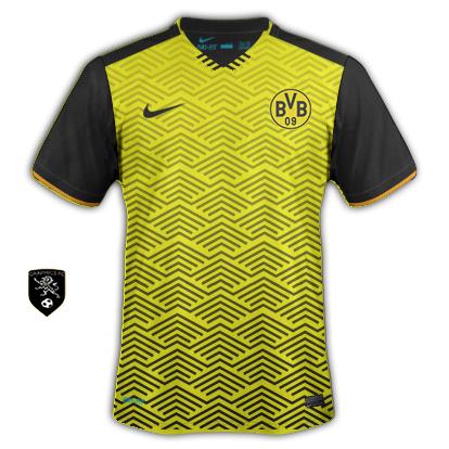 Borussia dortmund nike