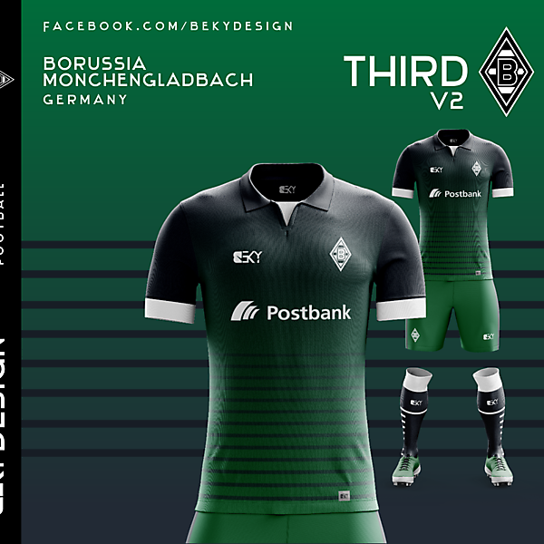 Borussia Mönchengladbach - Third V2 - by BEKY